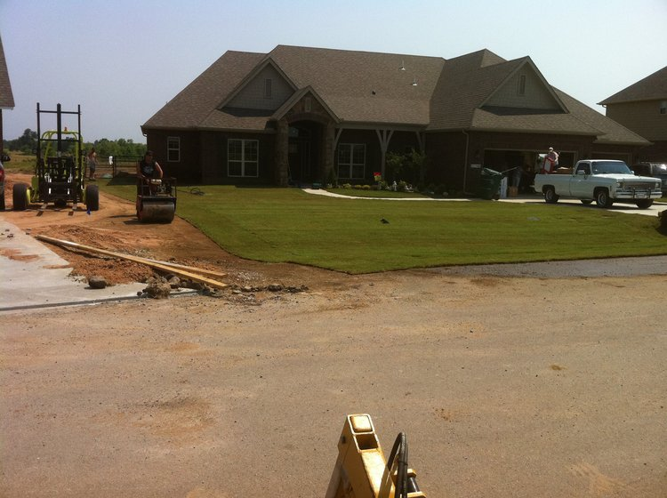 sod laying